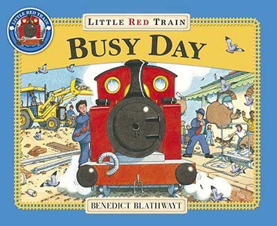 Little Red Train: Busy Day - Jacket