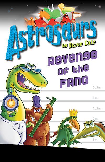 Astrosaurs 13: Revenge of the FANG - Jacket