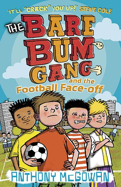 The Bare Bum Gang and the Football Face-Off - Jacket