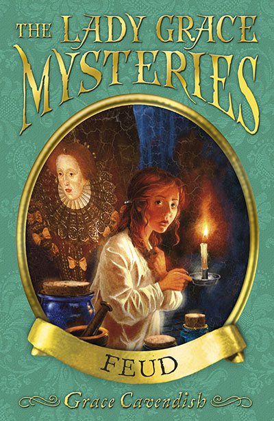 The Lady Grace Mysteries: Feud - Jacket