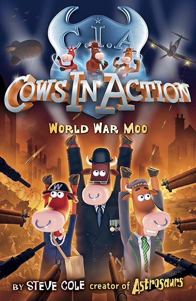 Cows in Action 5: World War Moo - Jacket
