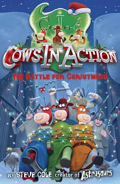 Cows In Action 6: The  Battle for Christmoos - Jacket