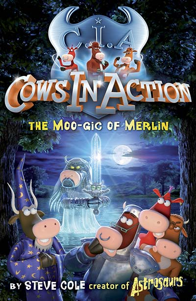 Cows In Action 8: The Moo-gic of Merlin - Jacket