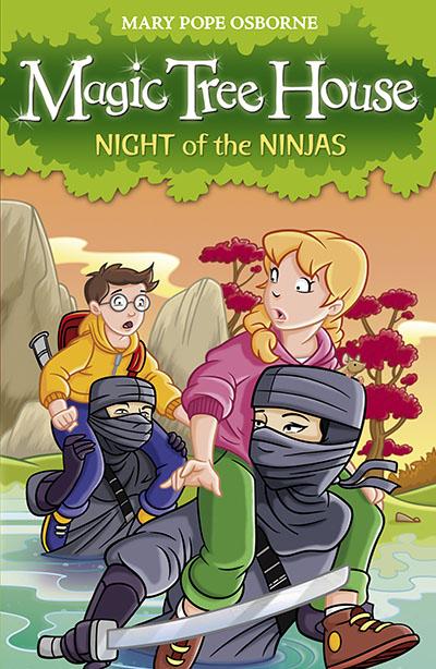Magic Tree House 5: Night of the Ninjas - Jacket