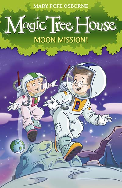 Magic Tree House 8: Moon Mission! - Jacket