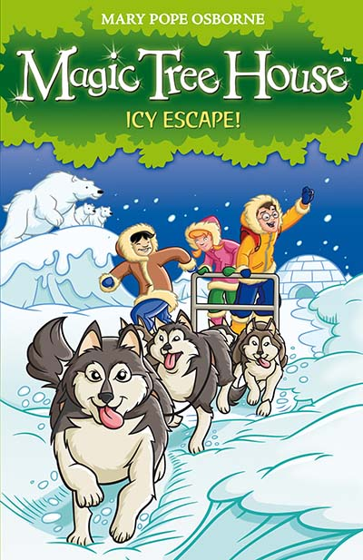 Magic Tree House 12: Icy Escape! - Jacket