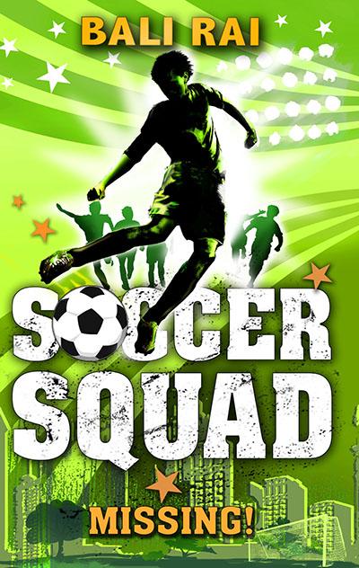 Soccer Squad: Missing! - Jacket