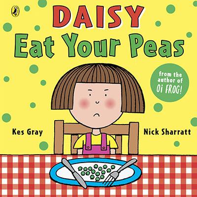 Daisy: Eat Your Peas - Jacket