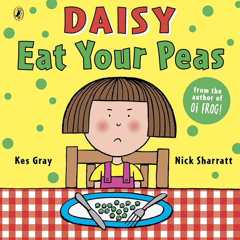 Daisy: Eat Your Peas - Jacket