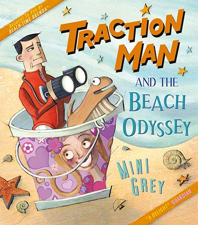 Traction Man and the Beach Odyssey - Jacket