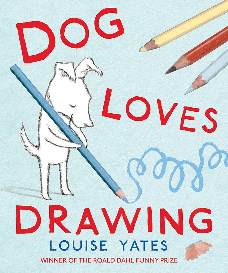 Dog Loves Drawing - Jacket