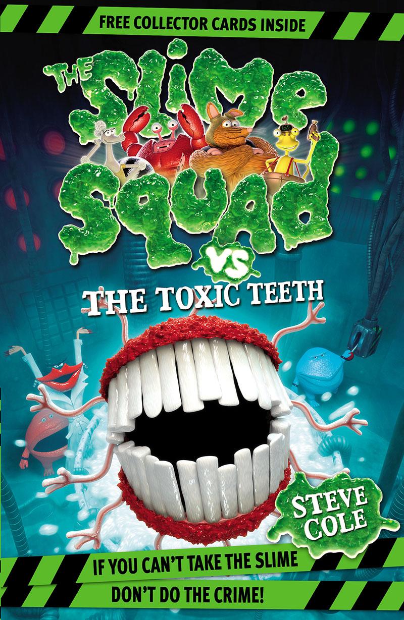 Slime Squad Vs The Toxic Teeth - Jacket