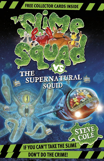 Slime Squad Vs The Supernatural Squid - Jacket