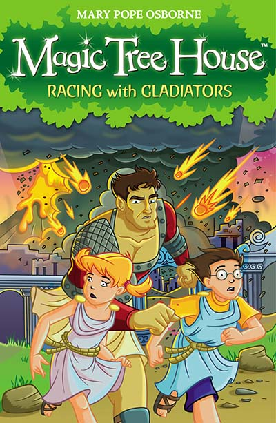 Magic Tree House 13: Racing With Gladiators - Jacket