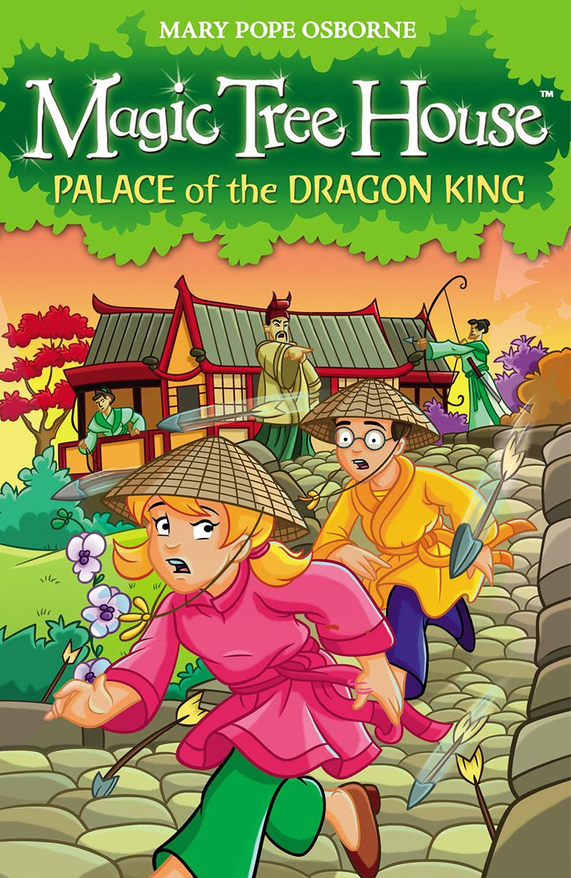 Magic Tree House 14: Palace of the Dragon King - Jacket