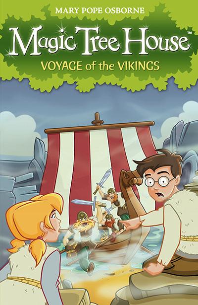 Magic Tree House 15: Voyage of the Vikings - Jacket