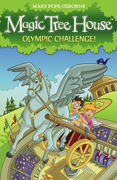 Magic Tree House 16: Olympic Challenge! - Jacket