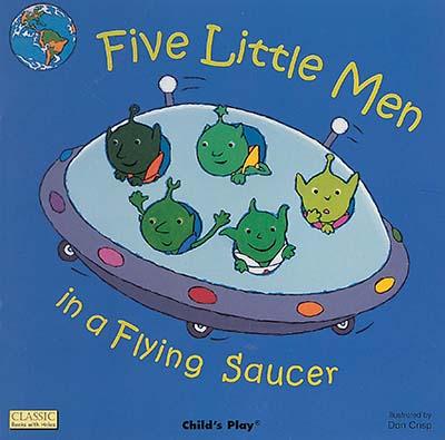 Five Little Men in a Flying Saucer - Jacket