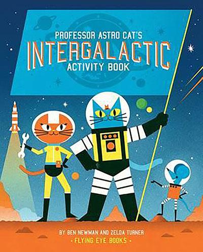 Professor Astro Cat's Intergalactic Activity Book - Jacket