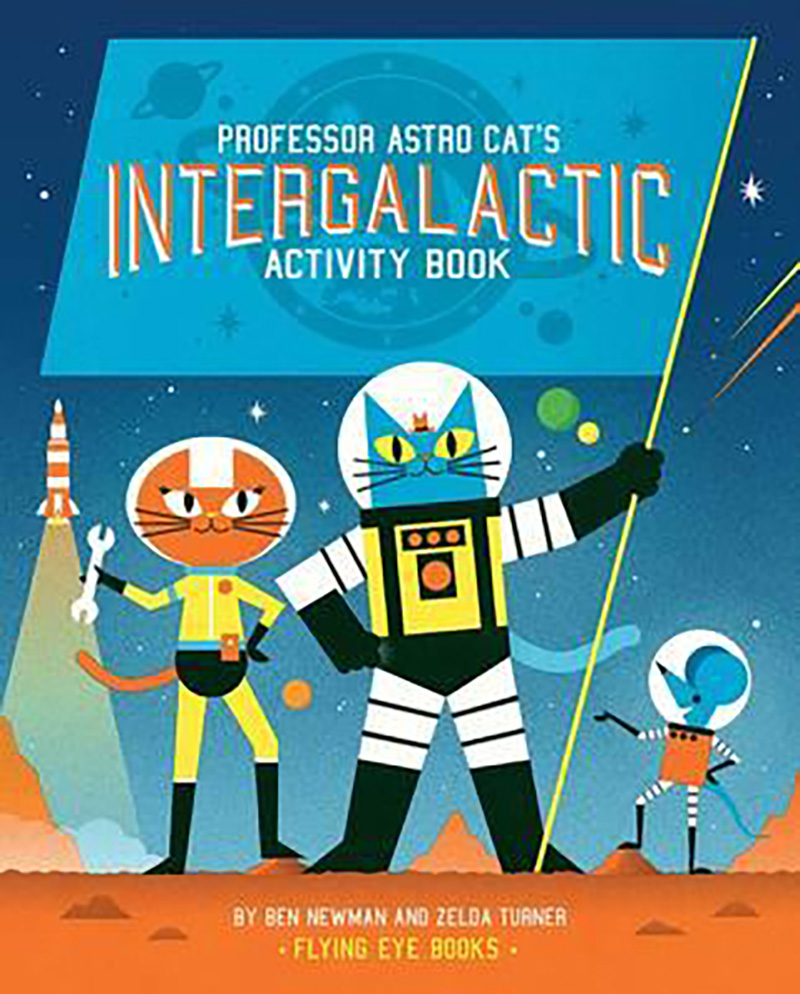 Professor Astro Cat's Intergalactic Activity Book - Jacket