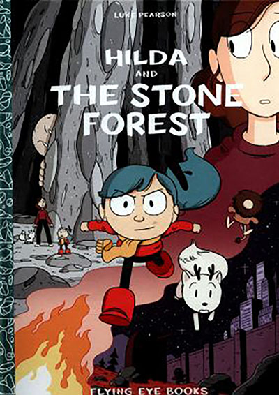 Hilda and the Stone Forest - Jacket