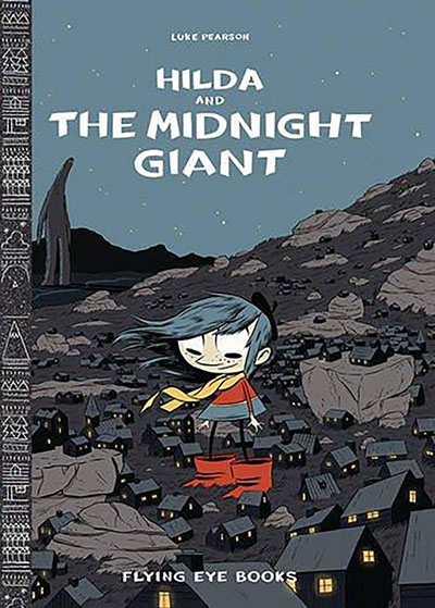 Hilda and the Midnight Giant - Jacket