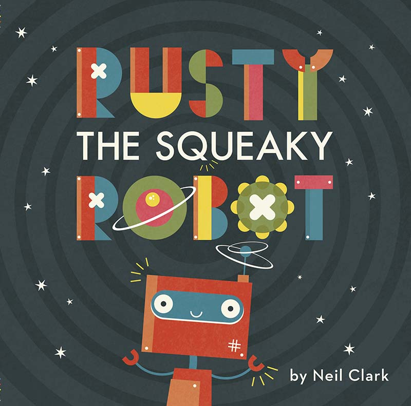Rusty The Squeaky Robot - Jacket