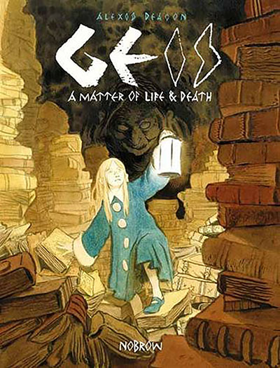 Geis 1: A Matter of Life and Death - Jacket