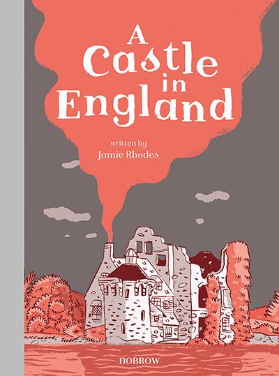 A Castle in England - Jacket