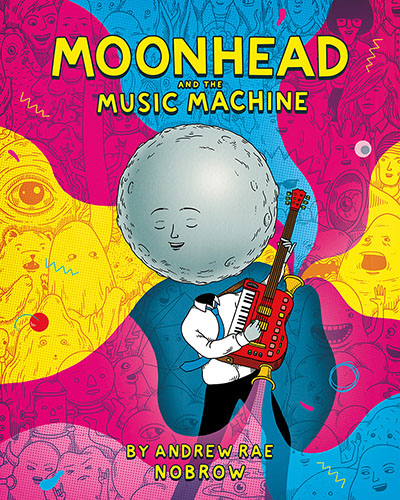 Moonhead and the Music Machine - Jacket