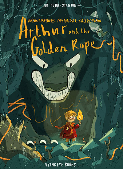 Arthur and the Golden Rope (Brownstone's Mythical Collection Book 1) - Jacket