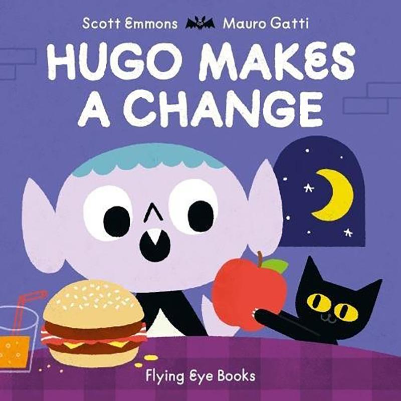 Hugo Makes a Change - Jacket