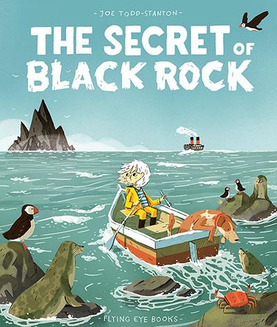 The Secret of Black Rock - Jacket