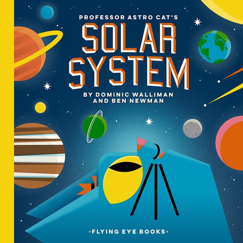 Professor Astro Cat's Solar System - Jacket
