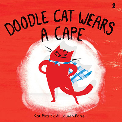 Doodle Cat Wears A Cape - Jacket