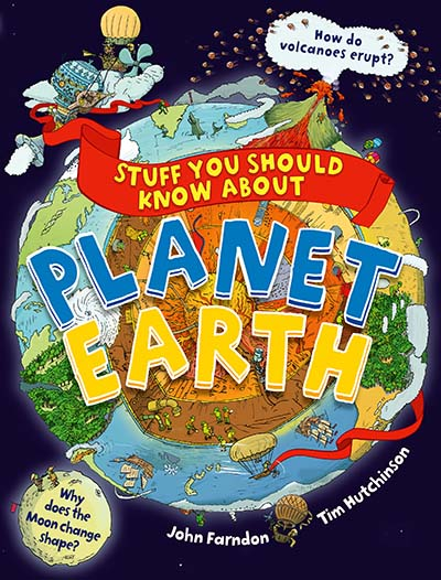 Stuff You Should Know About Planet Earth - Jacket