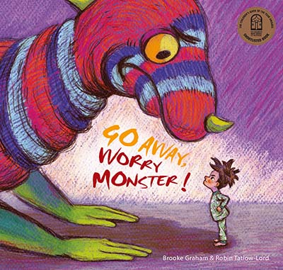 Go Away, Worry Monster! - Jacket