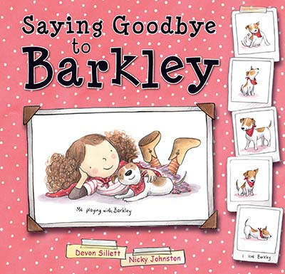 Saying Goodbye to Barkley - Jacket