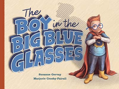The Boy in the Big Blue Glasses - Jacket