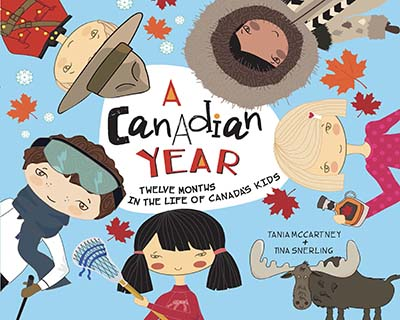 A Canadian Year - Jacket