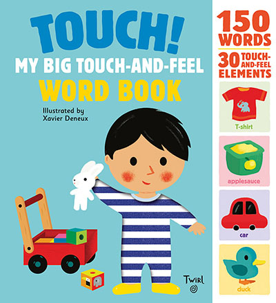 Touch! My Big Touch-and-Feel Word Book - Jacket