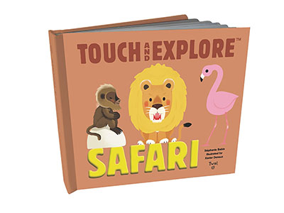 Touch and Explore: Safari - Jacket
