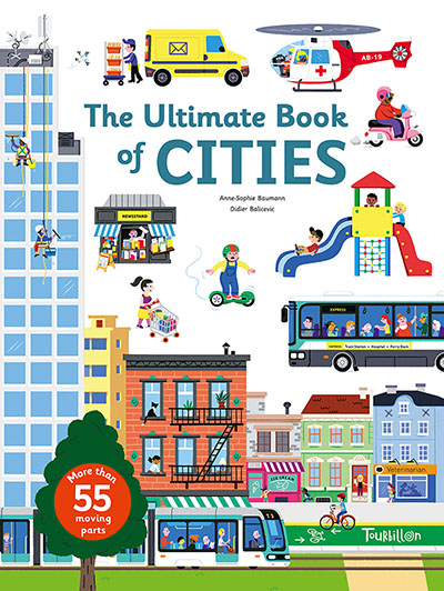 The Ultimate Book of Cities - Jacket