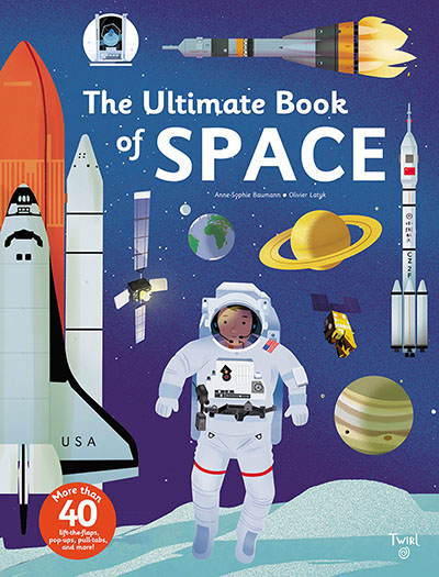 The Ultimate Book of Space - Jacket
